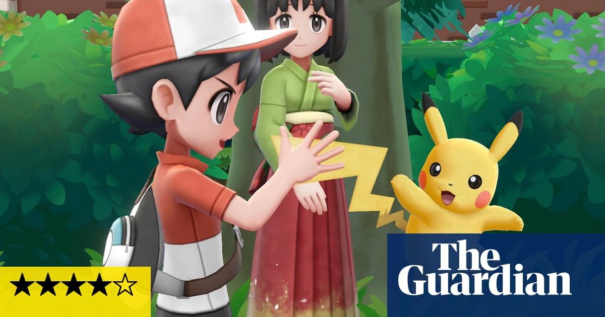 Pokémon Lets Go Pikachu Eevee Review A Childrens Classic
