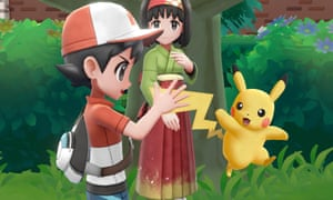 Pokémon Let's Go Pikachu for Nintendo Switch.