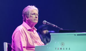 A different power and poignancy ... Brian Wilson performing at the Hammersmith Apollo.