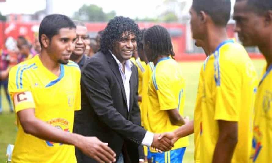 Samir Sobha has been president of the Mauritius Football Association since 2014.