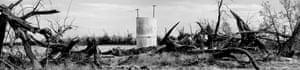 USA. Borrego Springs, California. 2020. Irrigation pipe.