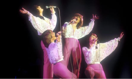 """'We spent the rest of our lives doing those """"Ooh! Ooh! Ooh!"""" harmonies' … from left, Maureen, Bernie, Linda and Coleen in 1981."""