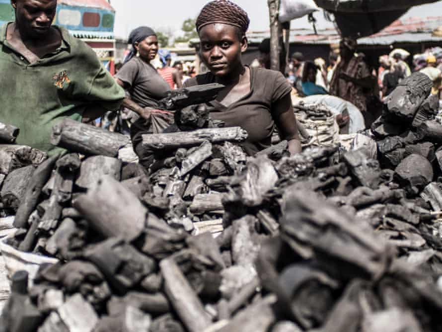 Most illegally-produced charcoal is smuggled to Haiti's charcoal market in Croix-des-Bouquets, on the outskirts of Port-au-Prince.