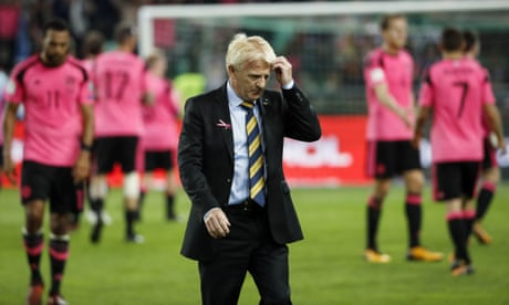 Scotland's next manager must learn from Gordon Strachan's shortcomings | Ewan Murray