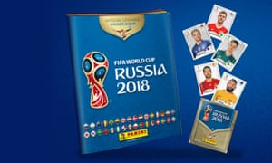 Panini World Cup sticker book