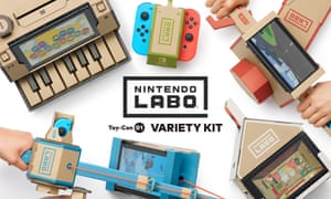 Nintendo Labo Turns Switch Console Into Interactive Toys Like