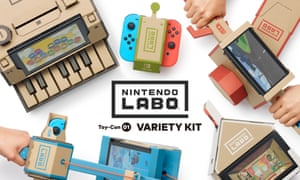 Nintendo Labo variety kit is available in the US now and will be launched in the UK next week