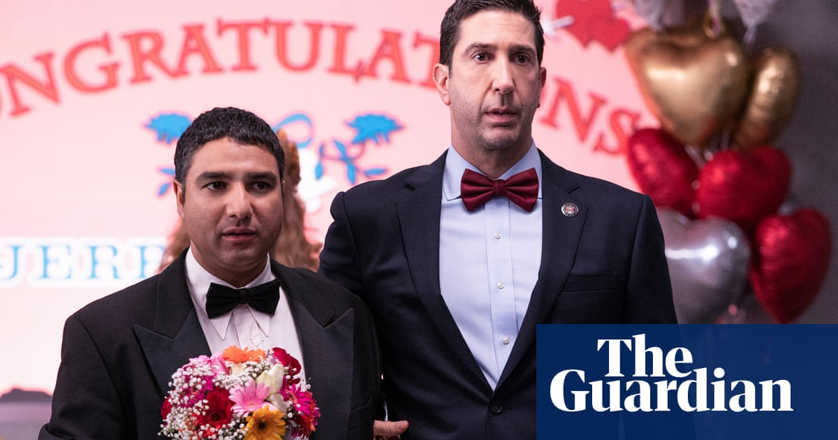 TV tonight: cyber laughs with David Schwimmer and Nick Mohammed