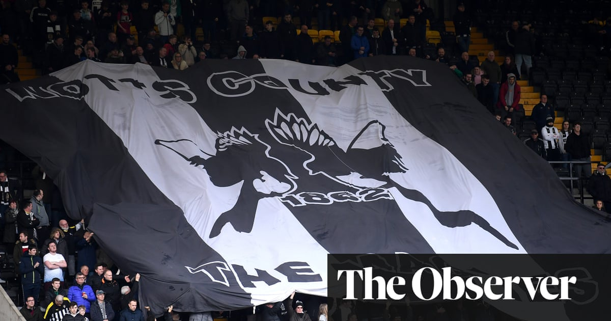 Revived Notts County eye an unlikely rapid return to the EFL