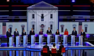 Night one of the Democratic debate.