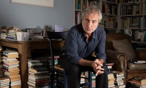 Adam Phillips, photographed at his home in Notting Hill in west London
