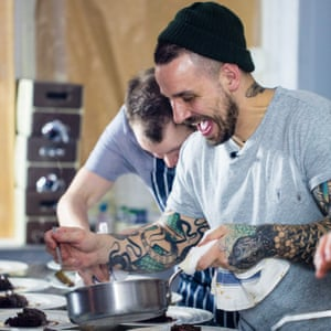 Gary Usher at the Wreckfish pop-up in Liverpool in February.