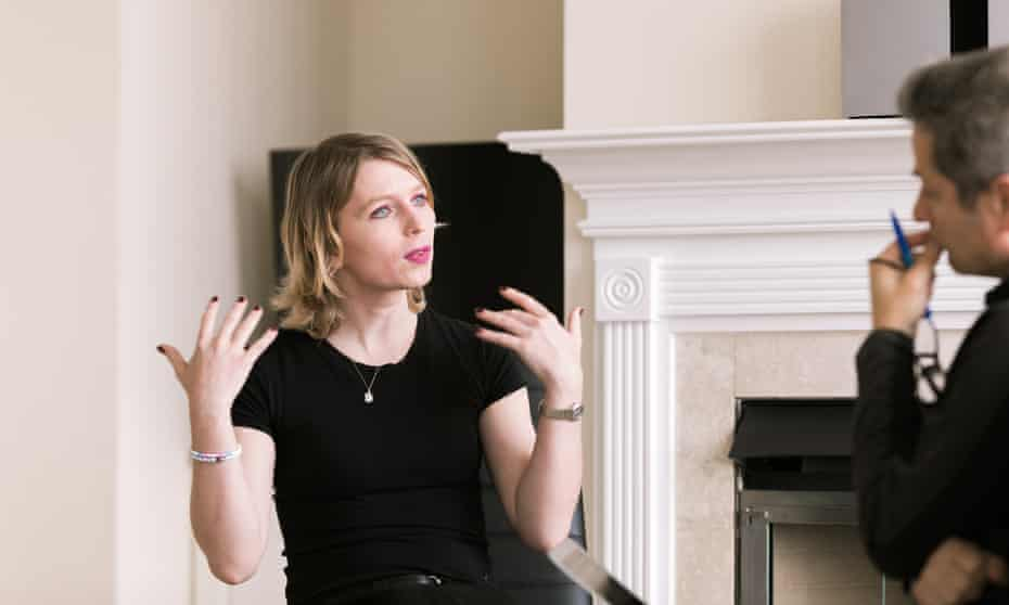Chelsea Manning talks to Ed Pilkington in her apartment outside Washington.