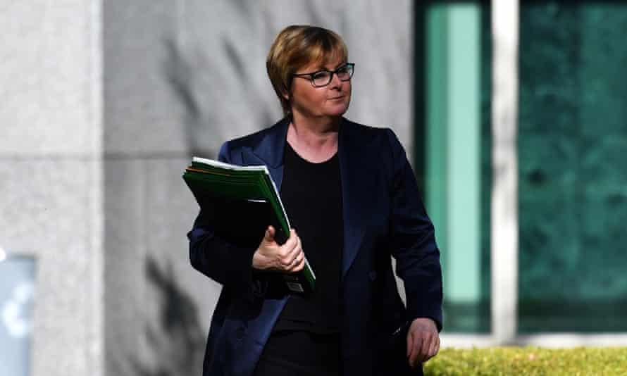 The NDIS minister Linda Reynolds