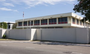 The British high commission in Jamaica
