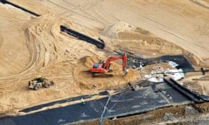 The Arrowhead landfill near Uniontown, Alabama.