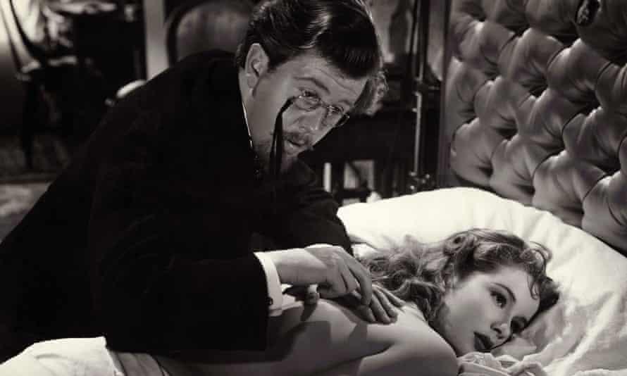 Michael Medwin as the doctor attending Sally Ann Howes as Kitty in Anna Karenina, 1948.