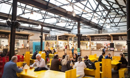'Located in 45,000sqft of battered industrial space': Mercato Metropolitano