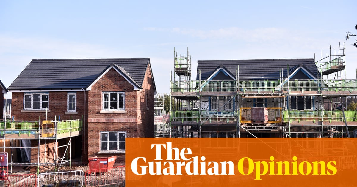 Liberalise planning rules to tackle a housing crisis – sounds logical, but it won't work