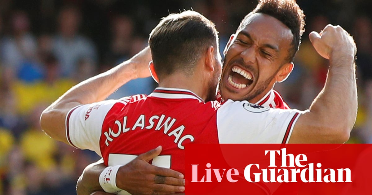 Watford v Arsenal: Premier League – live!