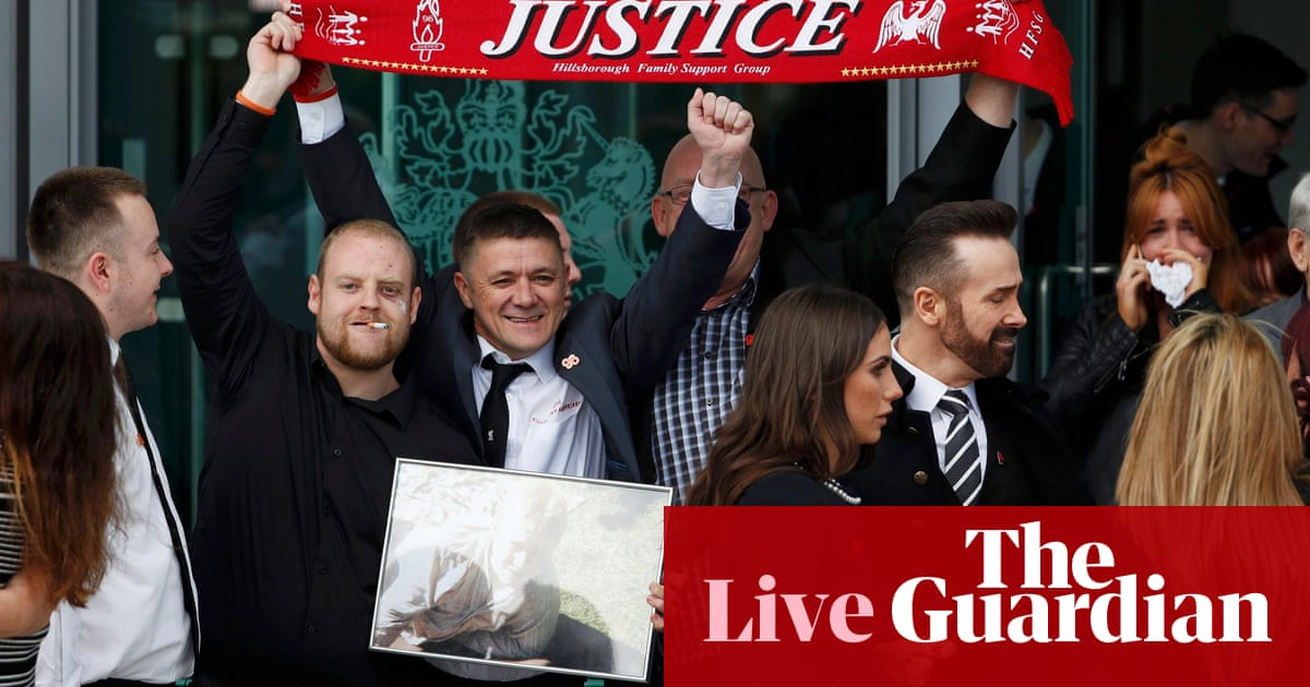 c688779f Hillsborough inquest verdict - as it happened | Football | The Guardian