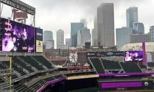 The Minnesota Twins stadium today