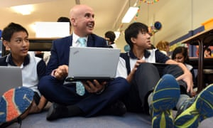 Adrian Piccoli says he is 'not particularly fond' of the government's proposal of a mandatory phonics check for year 1 students
