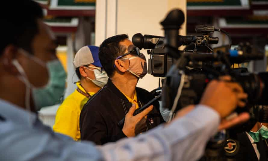 Thai film crews will be tested for symptoms on set and must wear face masks.