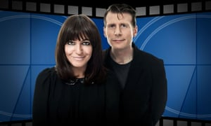 Claudia Winkleman and Danny Leigh in 2012.