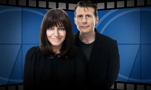 A new format … Claudia Winkleman and Danny Leigh in Film 2012.