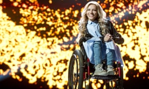 Russian singer Yuliya Samoilova is at the centre of a row involving Eurovision, Ukraine and Russia.