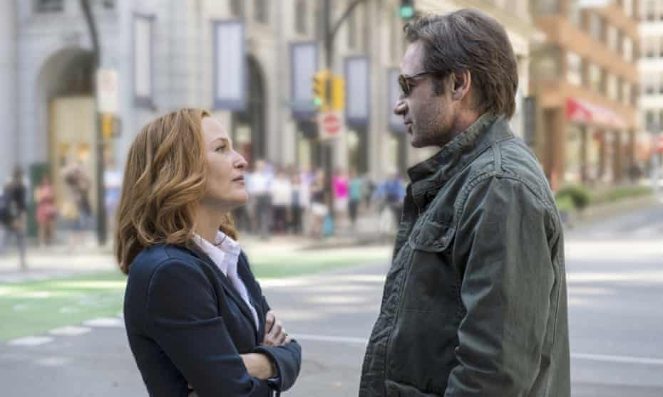 They're back … Scully and Mulder.