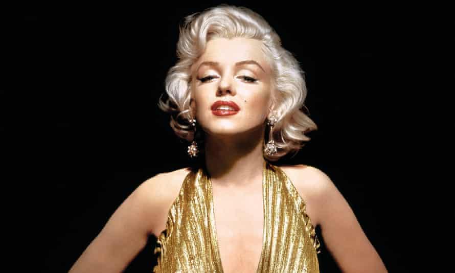 'From all-American  girl in sweater to heavy-lidded bombshell' ... Marilyn Monroe.