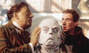 Terry Jones and Steve Coogan in The Wind In The Willows.