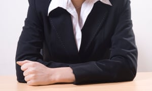 Close up of a business woman sat in office
