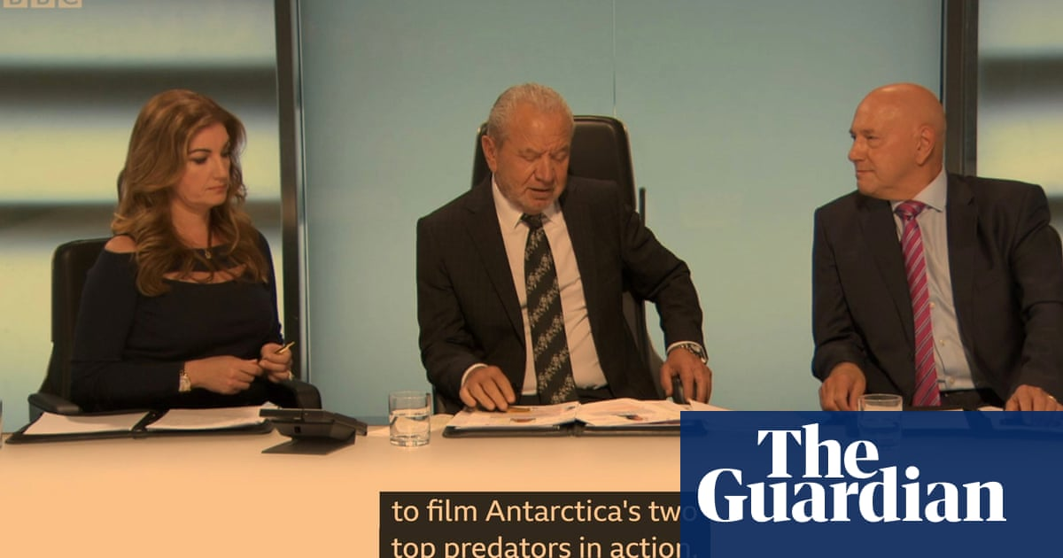 Youre hired! Why Attenborough should narrate The Apprentice
