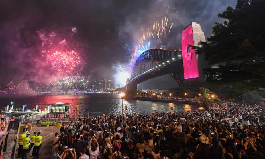 Sydney Celebrates New Year's Eve 2019