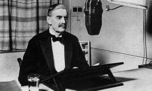 'A people united': British prime minister Neville Chamberlain announces the start of war on 3 September 1939.
