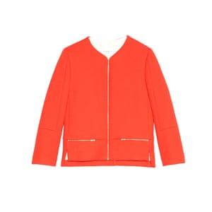 Jacket, £175, sandro-paris.com.