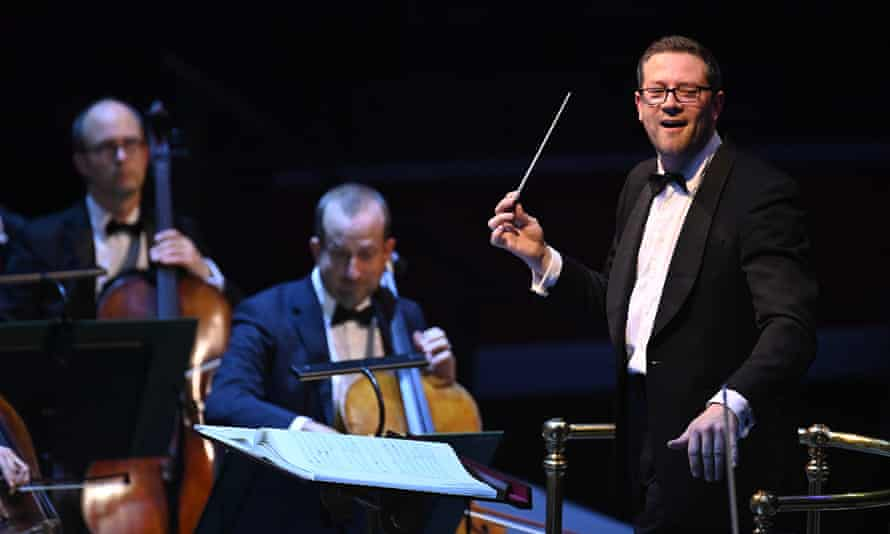 John Wilson with the Sinfonia of London for Prom 38.