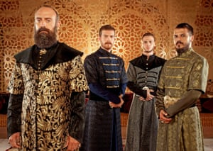 Magnificent Century, based on the life of Suleiman the Magnificent, the 10th Ottoman Sultan.