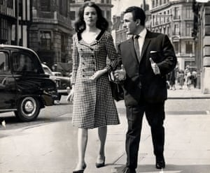Christine Keeler leaves Marlborough magistrates court with her solicitor