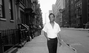 'What I saw around me that summer in Harlem was what I had always seen. Nothing had changed': James Baldwin in New York, 1963.