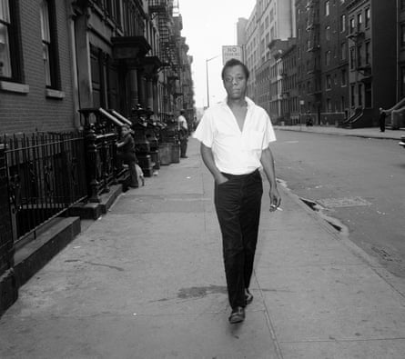 'White Americans are probably the most dangerous people in the world today' … author James Baldwin in New York, 1963.
