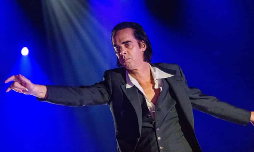 Nick Cave and The Bad Seeds in concert in Budapestepa06828988 Australian singer Nick Cave performs with his alternative rock band, Nick Cave and The Bad Seeds at the Papp Laszlo Sports Arena in Budapest, Hungary, 21 June 2018. EPA-EFE/Zoltan Balogh HUNGARY OUT