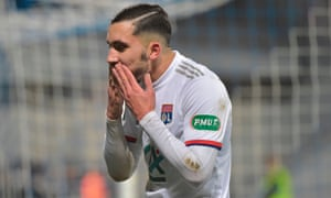 Rayan Cherki contributed to all four goals in Lyon's 4-3 victory against Nantes in the French Cup.
