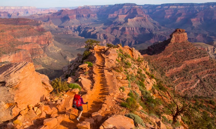 How To Hike The Grand Canyon Travel The Guardian