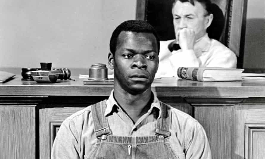 'A nation divided' … Brock Peters as Tom Robinson in the 1962 film of To Kill A Mockingbird.