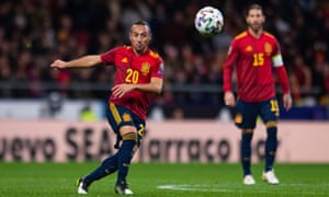 Santi Cazorla was in sublime form for Spain in the 5-0 victory over Romania on Monday.