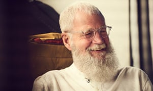 David Letterman, with his cloudlike beard.